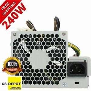 HP Z210 Z220 SFF Elite 8100 8200 Desktop Power Supply 240W 611481-001 613762-001