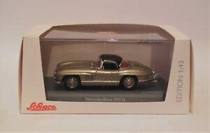 1/43 Schuco Mercedes Benz 300 SL Roadster Champange Limited Edition Rare