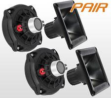 PAIR D250Ph + HORN - Replacement For Selenium D250 Phenolic Driver D250-X