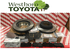 Toyota Tacoma 4wd 2005-2015 Genuine OEM Front Brake Rotors Pad Kit Shims & Pins