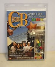 Chord Buddy Worlds Best Guitar Learning System DVD With Picks New