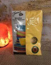 "Fiesta OblongTablecloth Zig Zag Looks , Sunflower 60"" x 102"" ( 152x259cm) NWT"