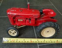 RARE Vintage LESNEY 'Massey Harris' 745D Large Scale Model Red Tractor