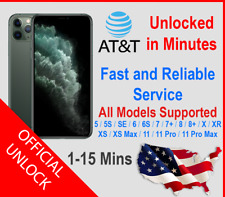 [READ!!!] FACTORY UNLOCK SERVICE AT&T CODE for iPhone 5/6/7/8/SE/X/XR/XS/XS Max