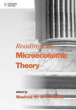 New, Readings in Microeconomic Theory, Manfredi La Manna, La Manna, Manfredi, Bo