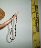 VINTAGE MATTEL Barbie Day 'n Night RARE ORIGINAL Bead Necklace 1965 #1723 Mint