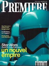 PREMIERE N°465 NOVEMBRE 2015 SPECIAL STAR WARS/ PORTMAN/ COBAIN/ VIARD/ MALICK