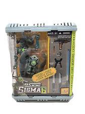 GI JOE Sigma 6 Snake Eyes Jungle Commando 6 Spring Loaded Shield W/Hidden Weapon