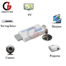 New Wii to HDMI Wii2HDMI 720p/1080P Upscaling Converter Adaptor +3.5MM