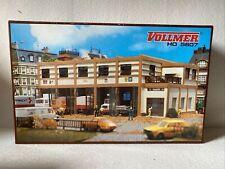 Vollmer H0 5607 Fahrzeughalle Gebäude in OVP NEU Unmontierter Bausatz Garage
