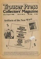 Elvis Costello Mink DeVille Nick Lowe Punk The Who Mag