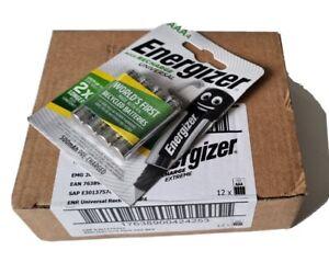 Energizer accu recharge AAA 500mAh box 12×4 batteries