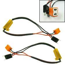 2pcs Error Free Canbus Decoder Wiring Kit For H7 LED Bulb Daytime Running Light