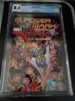 PowerMark #1 (PowerMark) CGC Graded 8.0 Free Shipping!