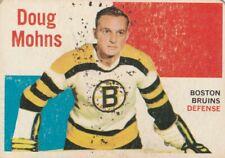 1960-61 TOPPS #52 DOUG MOHNS, BRUINS