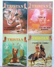 LOT BD - Tristan 1 a 4 / EO / PLISSON & CORNEN / DARGAUD