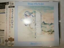 Steve Hackett Voyage Of The Acolyte [+2] Japan CD UICY-25537 W/Obi