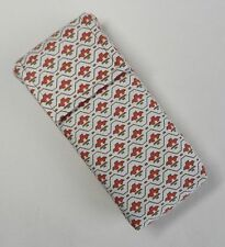 Handmade pocket tissue pouch. Vintage Laura Ashley cotton fabric. Easy opening.