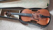 Nicely flamed old 4/4 Violin violon! needs repair!