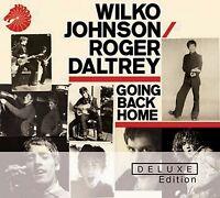 WILKO & DALTREY,ROGER JOHNSON - GOING BACK HOME (DELUXE EDITION) 2 CD NEU