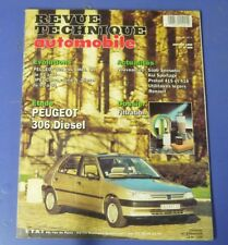 Revue technique automobile rta 569 (1995) Peugeot 306 diesel