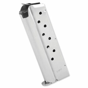 Springfield Armory 1911 Stainless Steel 9mm 9 Round OEM Magazine - PI6090