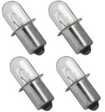 Dewalt 18v Xenon Flashlight Bulb GENUINE OEM DW9083 DW908 DW919 DC509 - 4 Pack