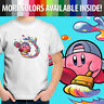 Kirby Artist Painter Video Game Nintendo Graphics Unisex Kids Tee Youth T-Shirt
