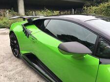 Overlay Carbon Fiber Mirror Cover upper section fit Lamborghini Huracan LP610-4