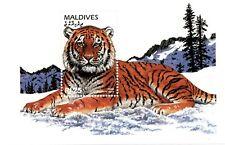 VINTAGE CLASSICS - Maldives 2187 - Tiger - Souvenir Sheet - MNH