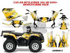 AMR RACING DEKOR KIT ATV CAN-AM OUTLANDER STD & XMR/MAX GRAPHIC KIT CARBON X B