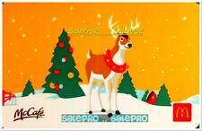 McDONALD 2019 CHRISTMAS HOLIDAY REINDEER CELEBRATION RARE COLLECTIBLE GIFT CARD