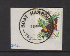 TASMANIA 1984: full example of BOAT HARBOUR Type 7 cds on piece [78]
