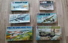 Airfix VINTAGE WW2 Aereo Kit Modello x6, Marauder, zanzare, Corsair, ME 109