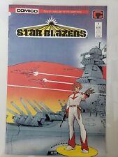 STAR BLAZERS #1-4 (1987) COMICO COMICS FULL COMPLETE SERIES! MANGA CLASSICS