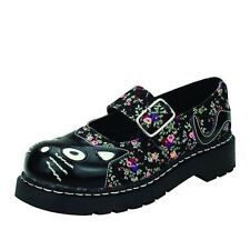 Women's Mary Janes Flats in Floral Pattern