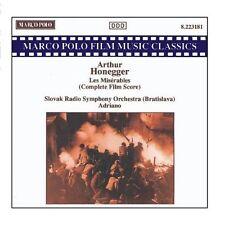 HONEGGER: Les Miserables ADRIANO Slovak Radio Symphony Orchestra