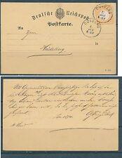 DR Brustschild Nr:15 -  2 Kreuzer K1 Boxberg i. Baden nach Heidelberg KW 400 M€