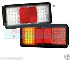 SIM 12V/24V VOLT LED REAR 3 FUNCTION COMBINATION COMPACT TAIL LAMP/LIGHT TRAILER
