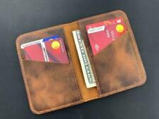 Christmas Gift Credit Card Holder Zip Purse Coins Cash Unisex Retro Old