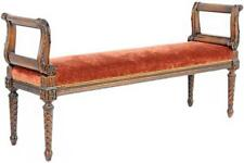 Louis Xvi Style Carved Bench Lot 228