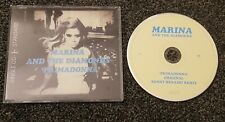 MARINA AND THE DIAMONDS - PRIMADONNA CD - EXCELLENT CONDITION  - FREEPOST