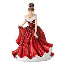 Royal Doulton Pretty Ladies Petite JANUARY - GARNET BIRTHSTONE NEW IN THE BOX