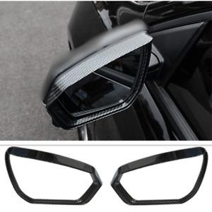 Fit For Chevrolet Equinox 2018-2021 Carbon Fiber Side Mirror Rain Eyebrow Cover