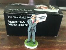 "Vintage Sebastian Miniatures ""Give Them Hell Harry� Le 50th Anniversary-in Box"