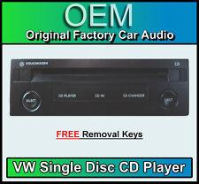 VW Lupo reproductor de CD, cambiador CD single para radio reproductor de cassette beta/gamma
