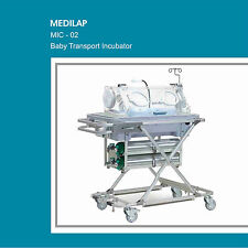 MIC-02 INFANT BABY TRANSPORT INCUBATOR NEONATAL INTENSIVE CARE UNIT WITH BACKUP