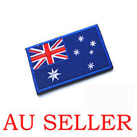 National Australian Australia Flag Sew Cloth Patch Embroidered Badge 8x5cm AU