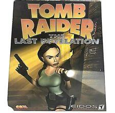 Tomb Raider: The Last Revelation Pc Big Trapezoid Box New/Sealed Free S&H