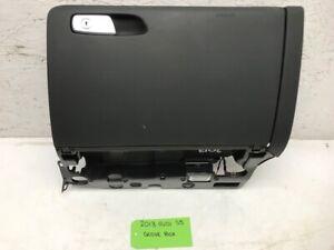 08-16 AUDI S5 A5 S4 BLACK GLOVEBOX DOOR ASSEMBLY